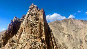 Southeast Ridge of La Plata Peak
