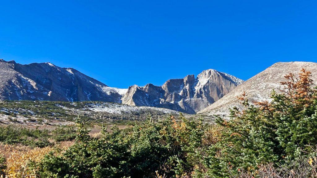 Blue Skies at Treeline, Longs Peak