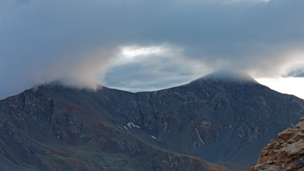 Storm over Grays and Torreys